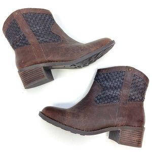 Adam Tucker Me Too | Genuine Leather Woven Boot